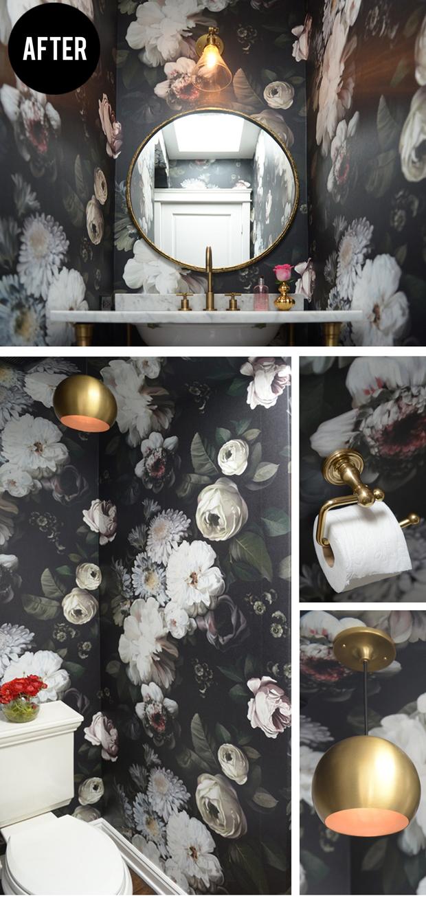 1134x1134px Ellie Cashman Dark Floral Wallpaper Wallpapersafari