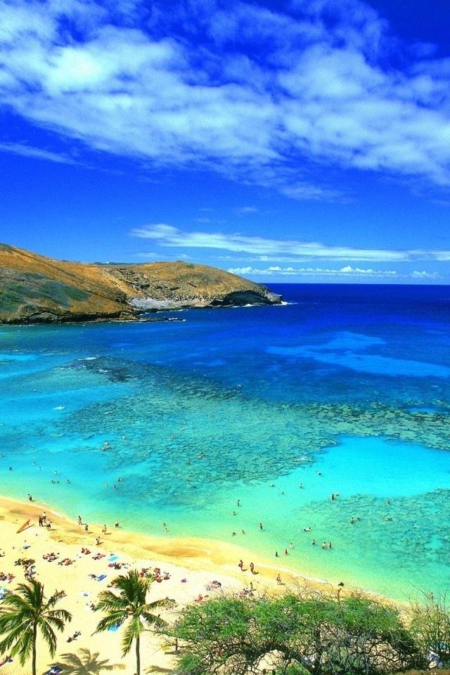640x960px Beach IPhone Wallpaper HD