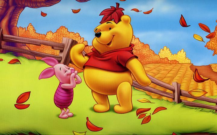 510x368px Winnie the Pooh Fall Wallpaper - WallpaperSafari