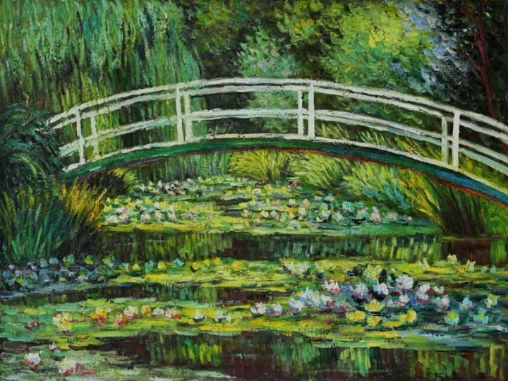 1920x1080px Monet Water Lilies Wallpaper