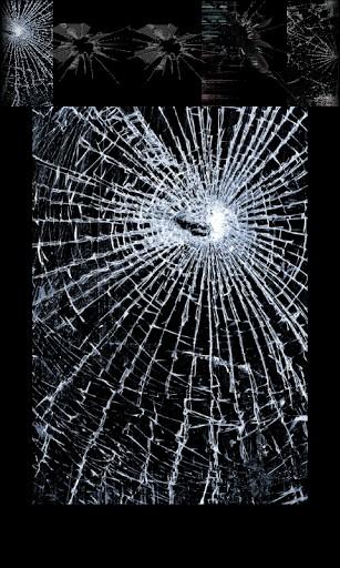 1600x1000px cracked tv screen prank wallpaper - How to do the broken tv screen prank ...