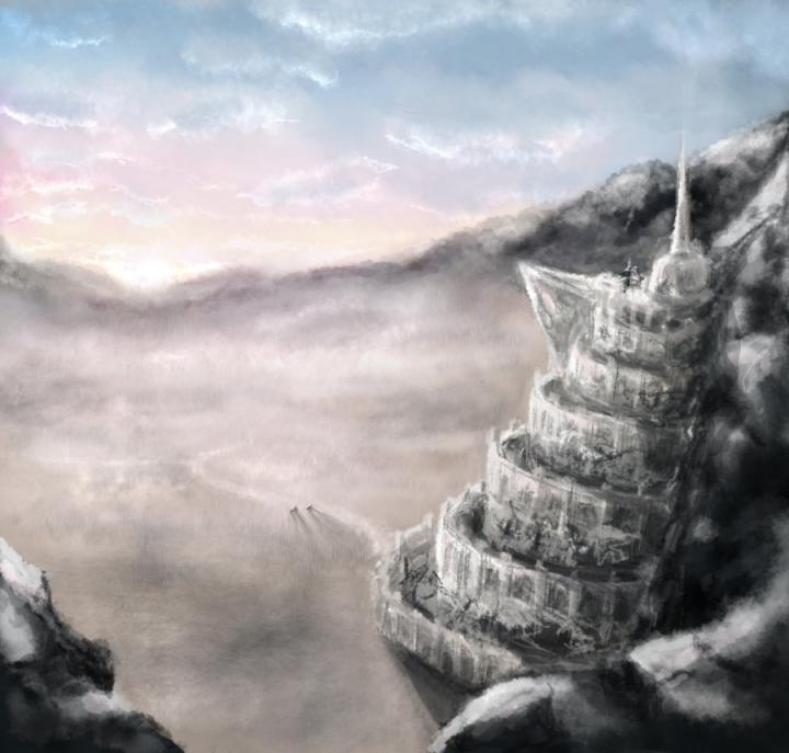 1024x768px Minas Tirith Wallpaper Wallpapersafari