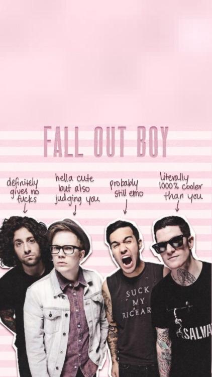 850x315px Fall Out Boy Phone Wallpaper Wallpapersafari