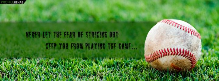 850x315px Baseball Quote Wallpaper