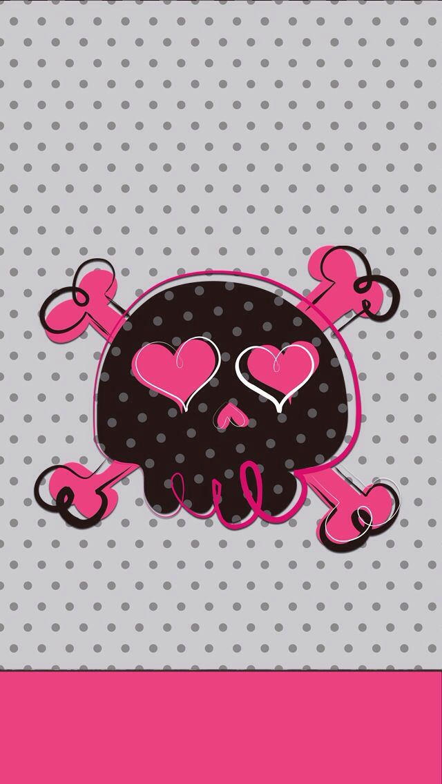 512x307px girly skull wallpaper wallpapersafari you voltagebd Choice Image