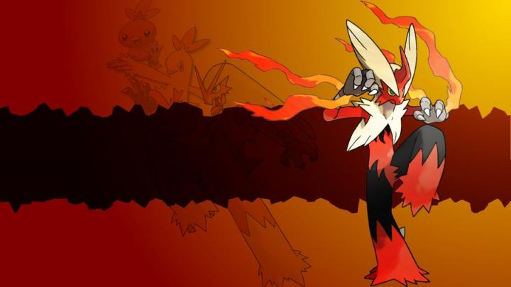 900x506px Mega Blaziken Wallpaper WallpaperSafari