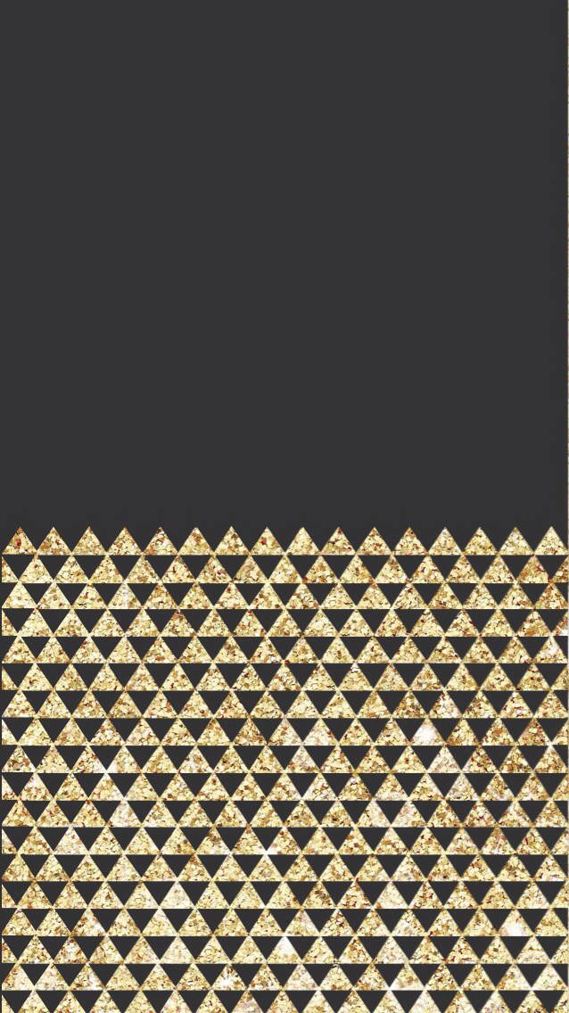 638x1136px Black And Gold IPhone Wallpaper