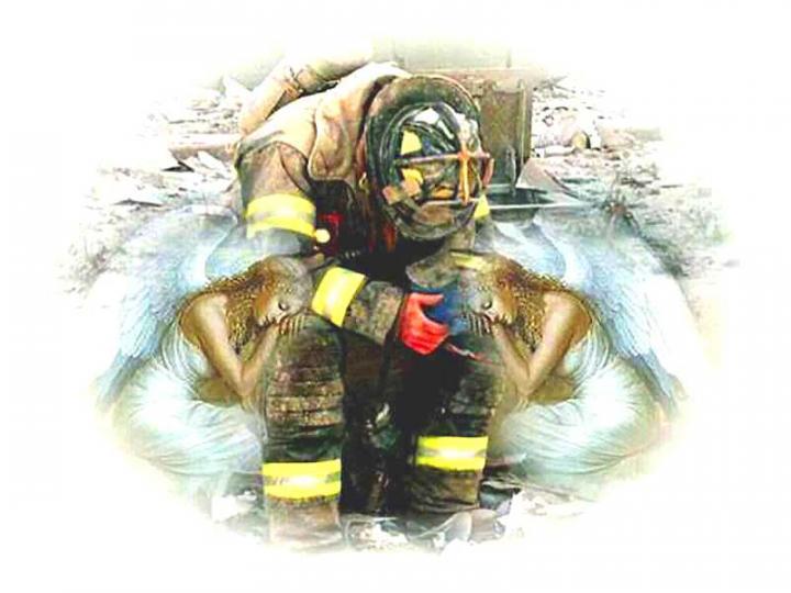 800x600px HD Firefighter Wallpaper
