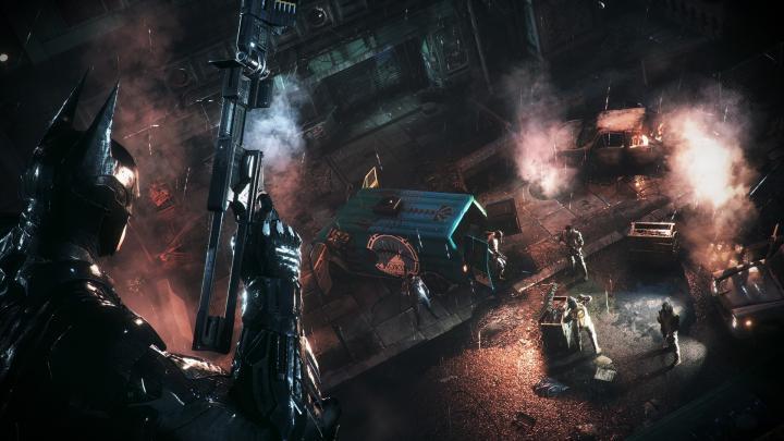 1024x576px Batman Arkham Knight Wallpaper 1080P