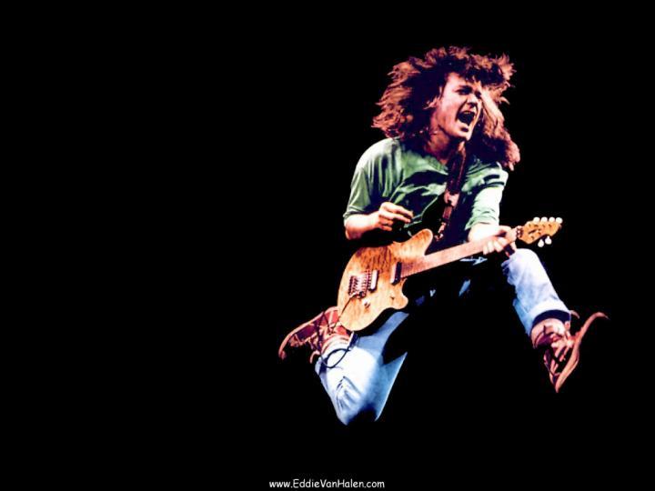 1024x768px Eddie Van Halen Wallpaper