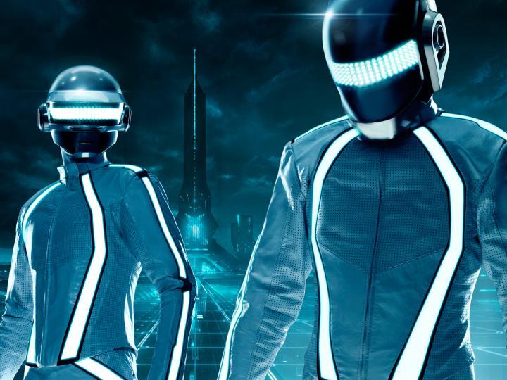 2560x1024px Daft Punk Dual Monitor Wallpaper - WallpaperSafari