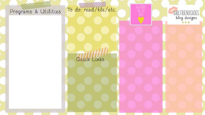 1366x768px Desktop Icon Organizer Wallpaper