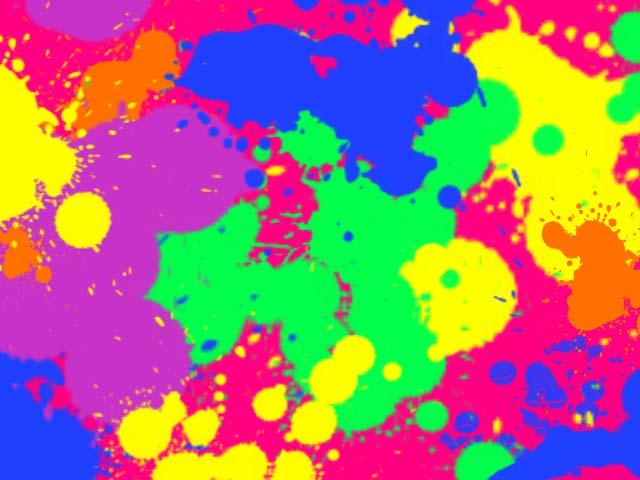 1024x768px Neon Splatter Paint Wallpaper Wallpapersafari