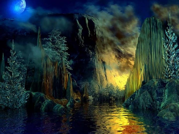 1920x1200px fantasy land wallpaper wallpapersafari - Fantasy land wallpaper ...