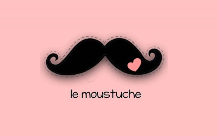 500x750px Cute Mustache Wallpaper Tumblr