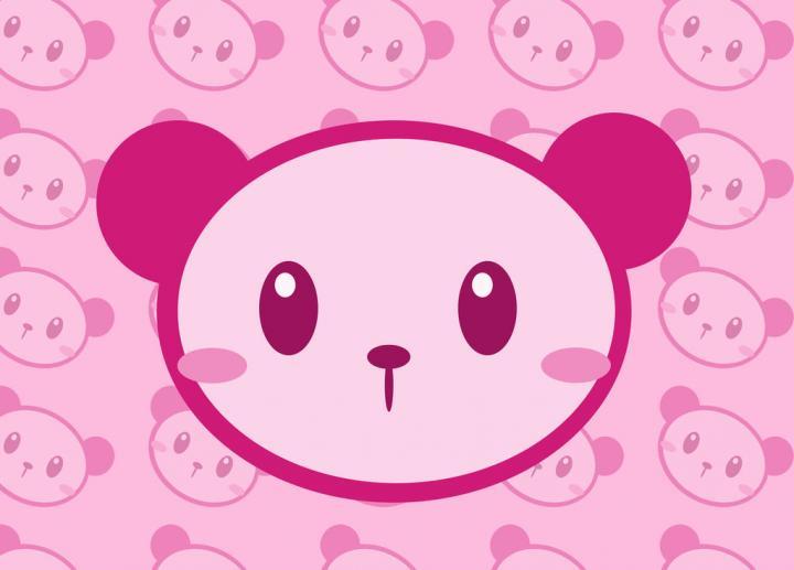 Kawaii Panda Wallpaper Source 500x691px Pink WallpaperSafari