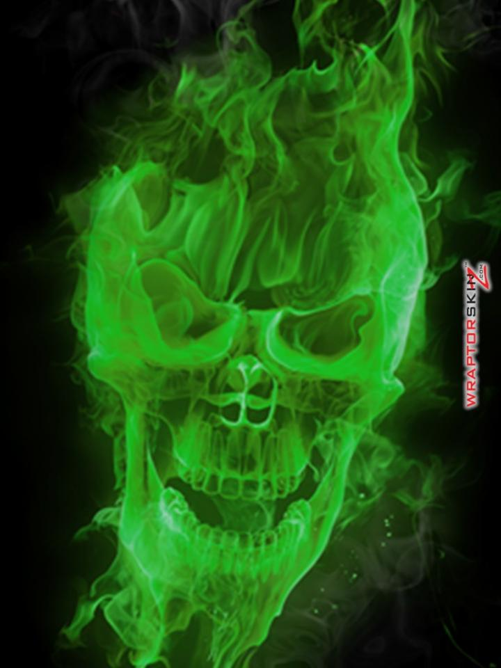 1600x1000px Skull On Fire Wallpapers
