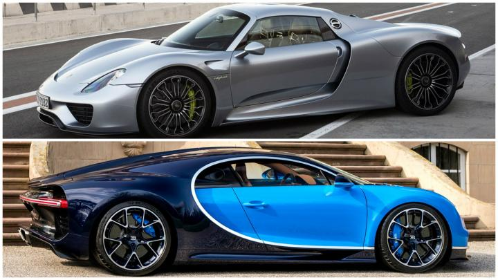 bugatti 2018 vs porsche convertible - HD 1920×1080