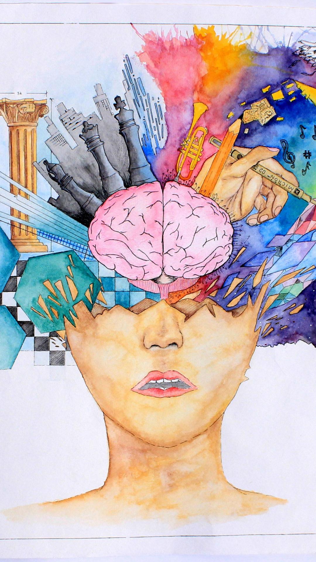 Free Download Left Brain Right Brain Wallpaper 3134x2299