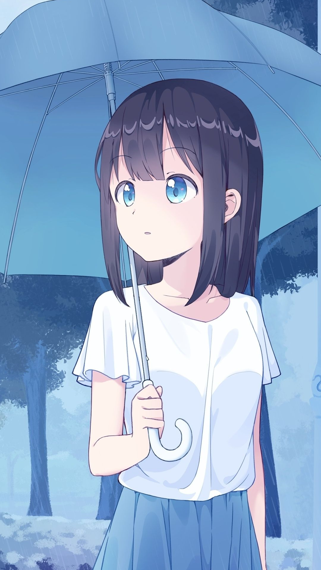 Free Download Anime Girl Cute With Umbrella Art 1080x2160 Wallpaper Anime 1080x2160 For Your Desktop Mobile Tablet Explore 38 Anime Girl 2019 Wallpapers Anime Girl 2019 Wallpapers Anime Girl Wallpaper Girl Anime Wallpaper