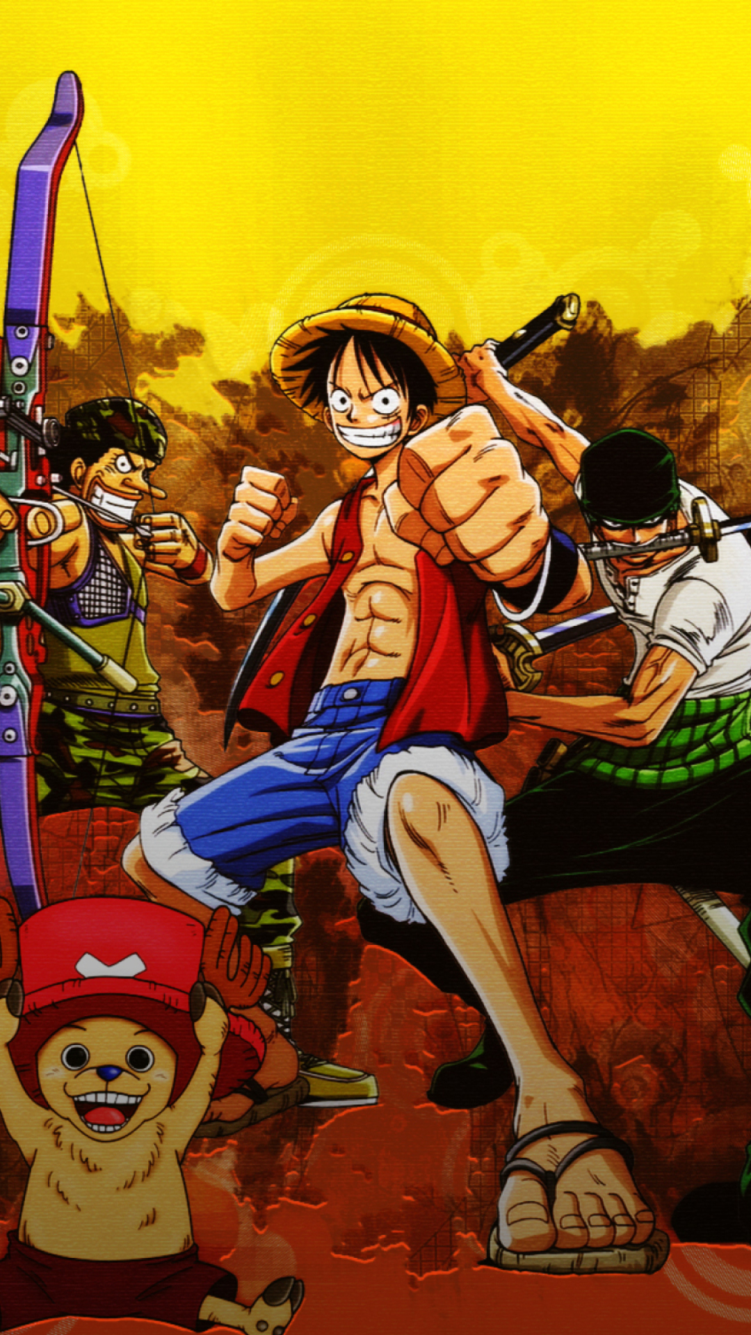 Free Download One Piece Iphone Wallpapers Hd 1080x1920 For