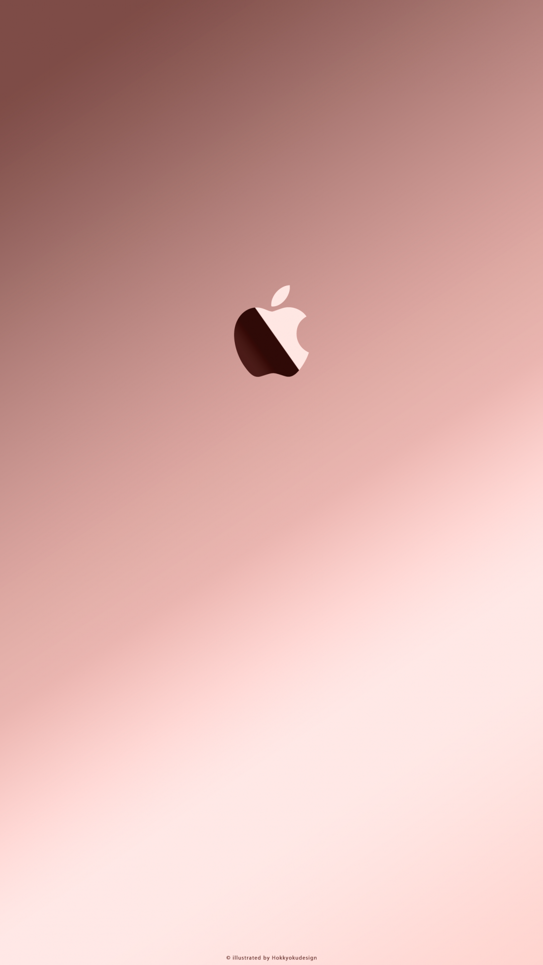 Free Download Iphoneipadrose Gold With Apple3 Rose Gold Wallpaper