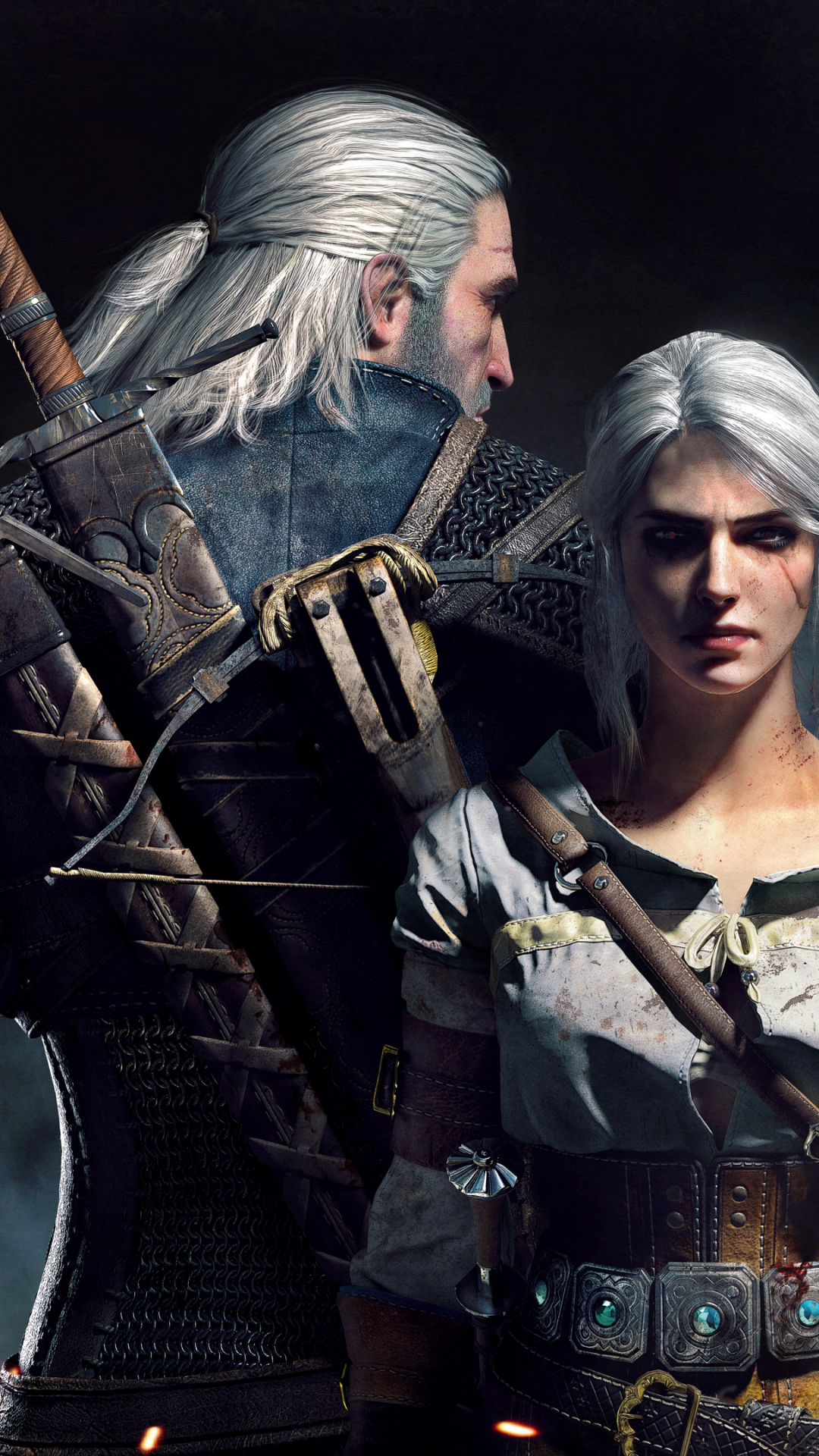 Free Download Geralt Ciri The Witcher 3 Wild Hunt Wallpapers Hd