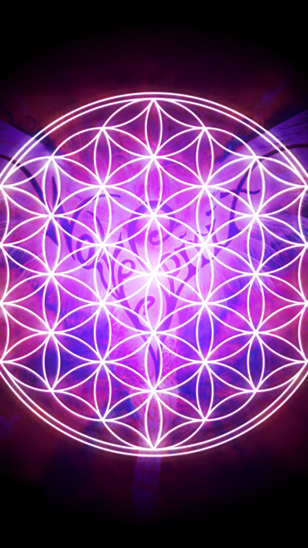 Download Flower Of Life Wallpaper Flower Of Life Iphone 2000x2000