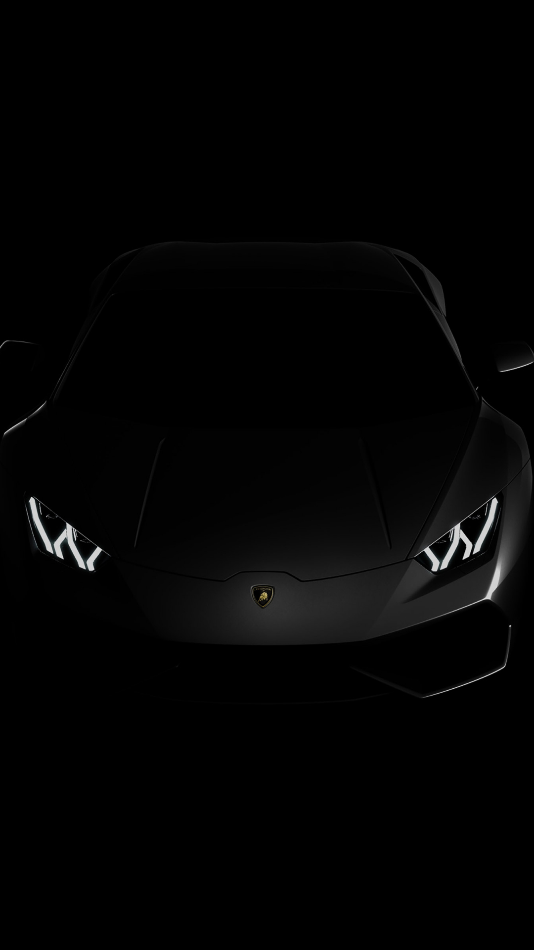Free Download Lamborghini Huracan Lp Black Dark 4k Wallpaper View