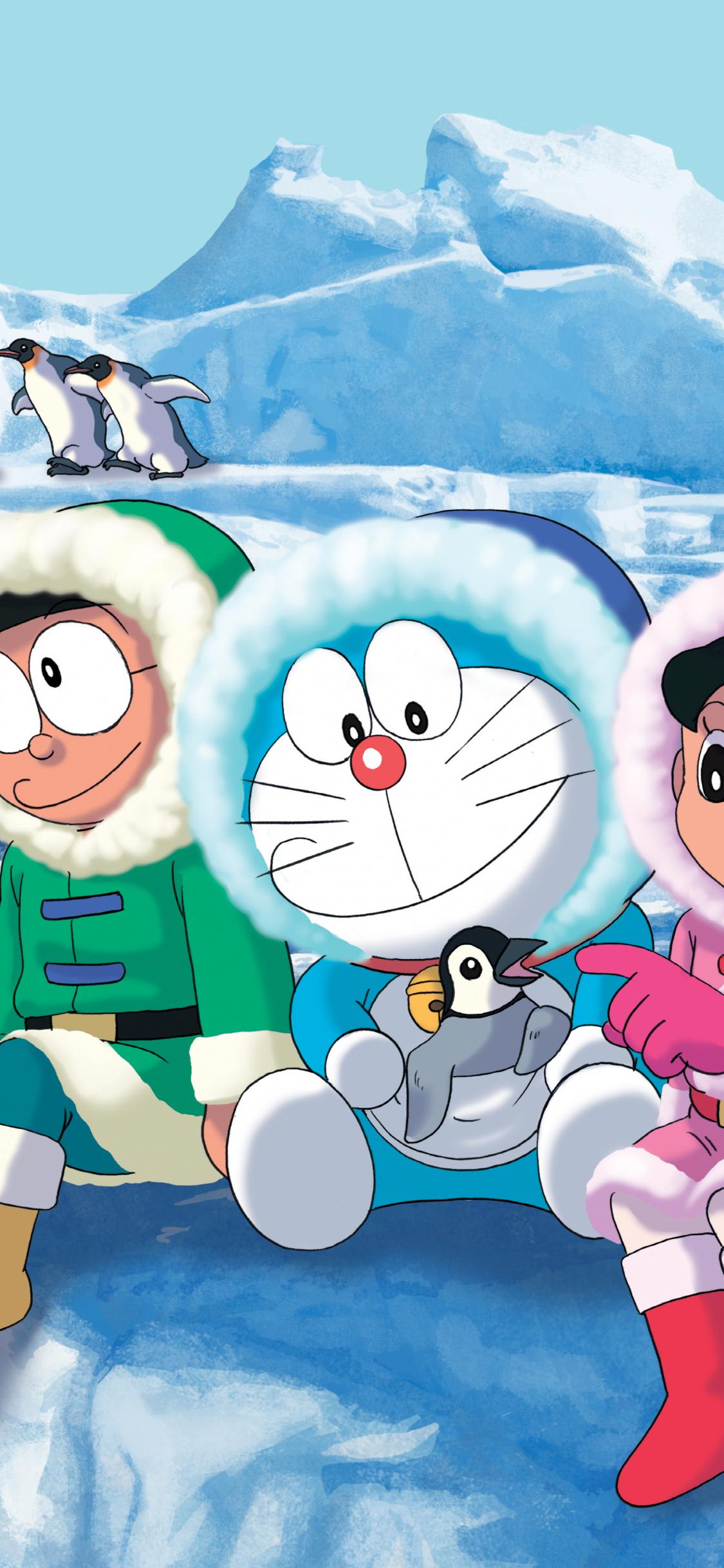 Free Doraemon Wallpaper Image Size 5370x4751px