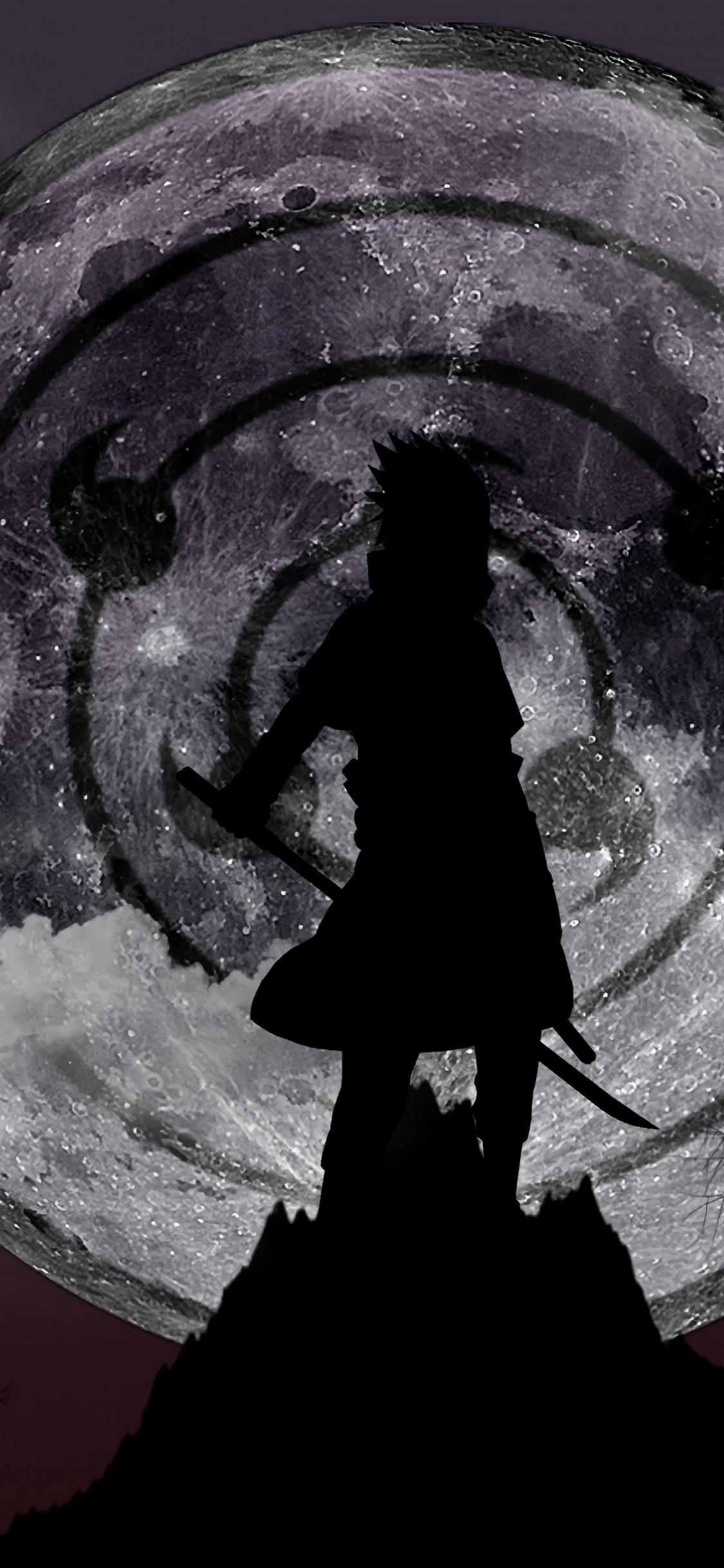 Sasuke Rinne Sharingan Wallpaper
