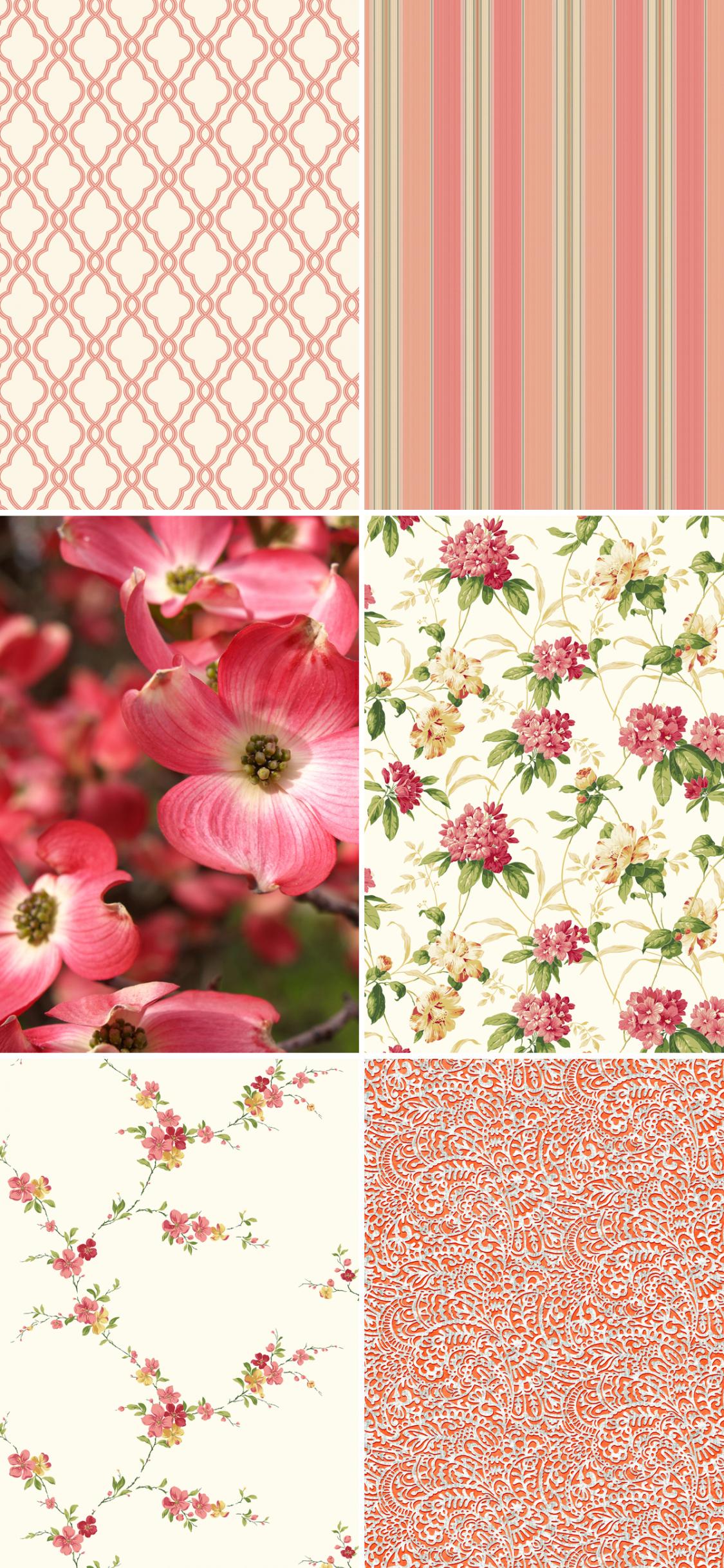 Free Download New Waverly 5507640 Floral Trail Wallpaper Bunda