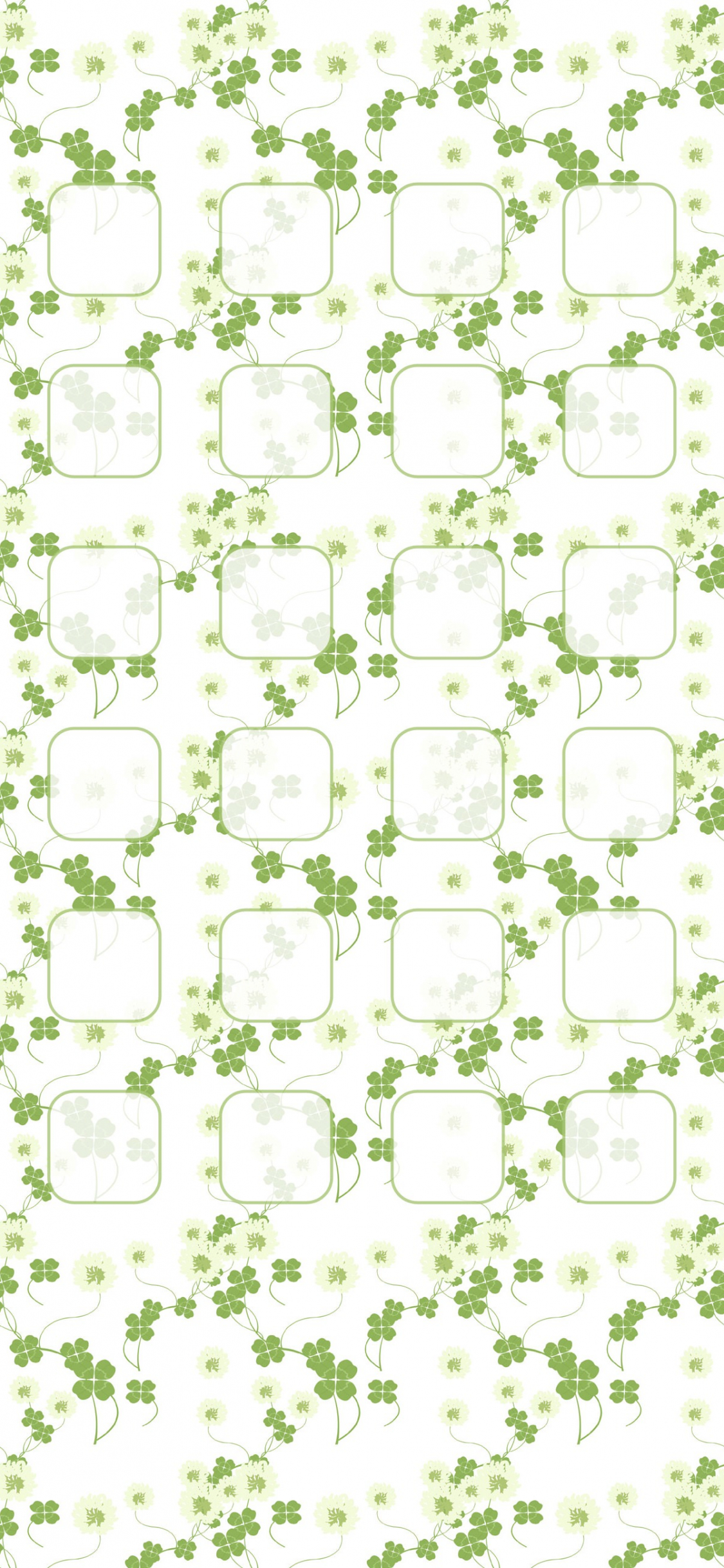 Free Download Clover Pattern Illustrations Green Shelf Wallpapersc