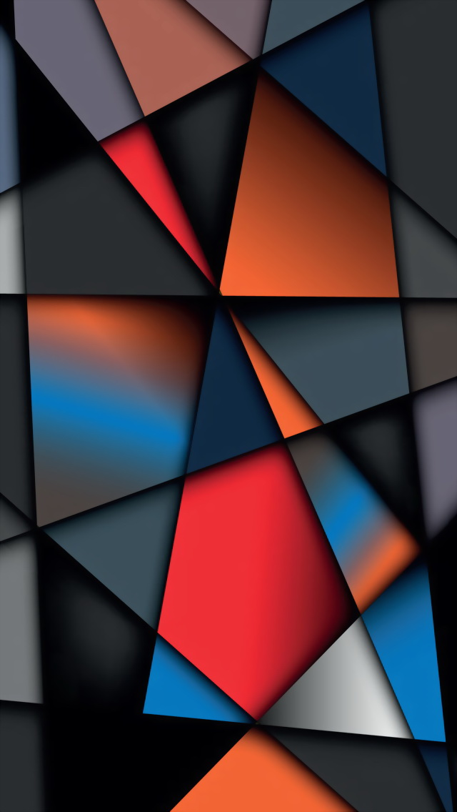 Free Download Colorful Geometry The Iphone Wallpapers