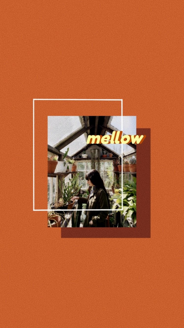 Free Download Orange Aesthetic Wallpaper Mellow Non Kpop