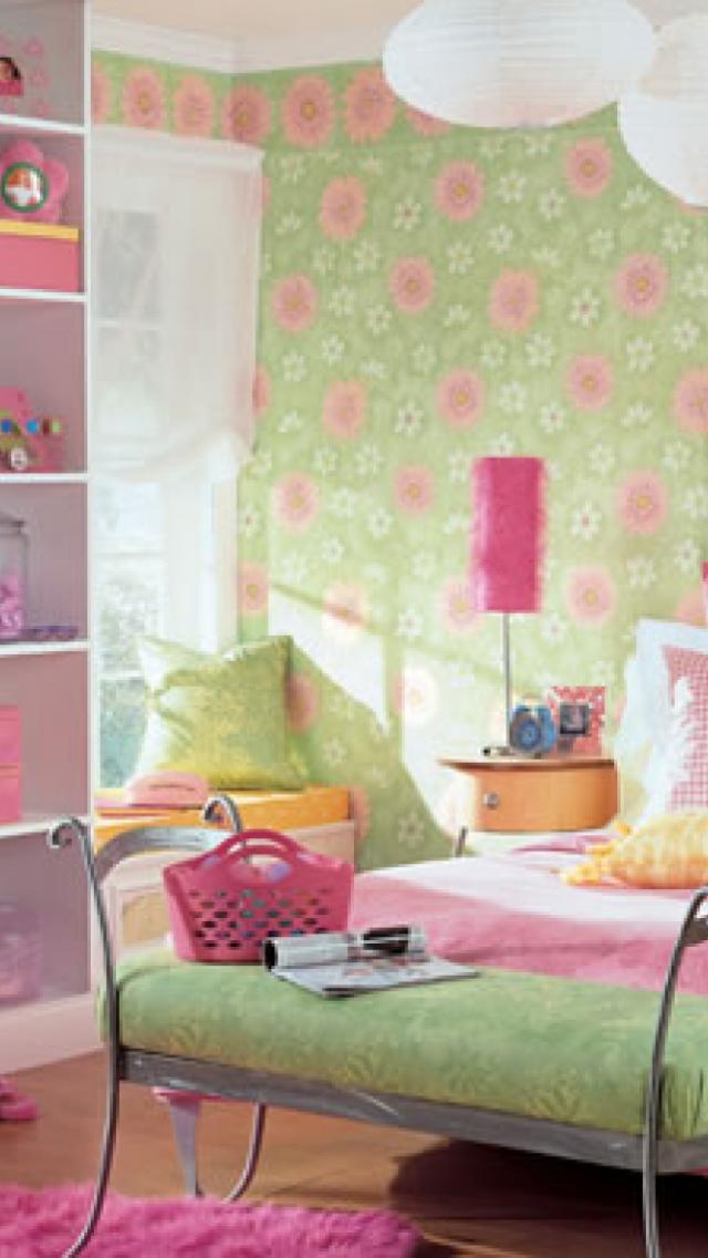 Free download Modern girls bedroom wallpaper ideas girls ...