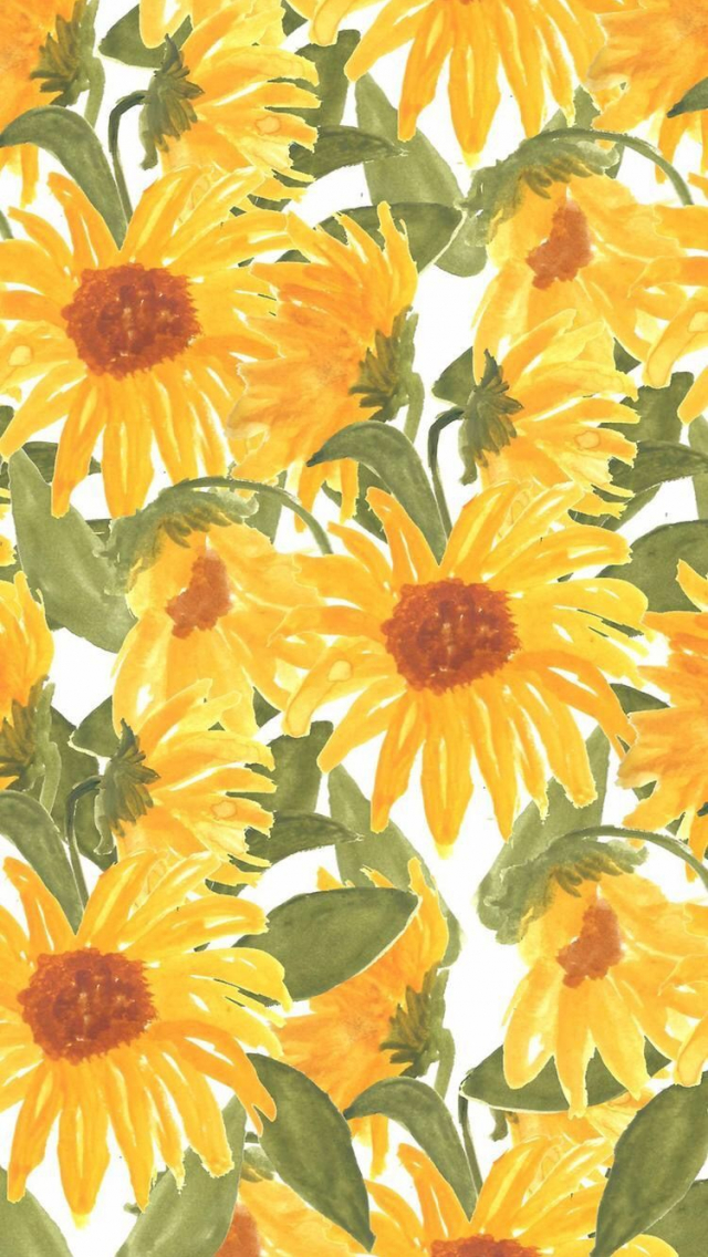 Free Download Sunflowers Iphone Wallpapers Top Sunflowers