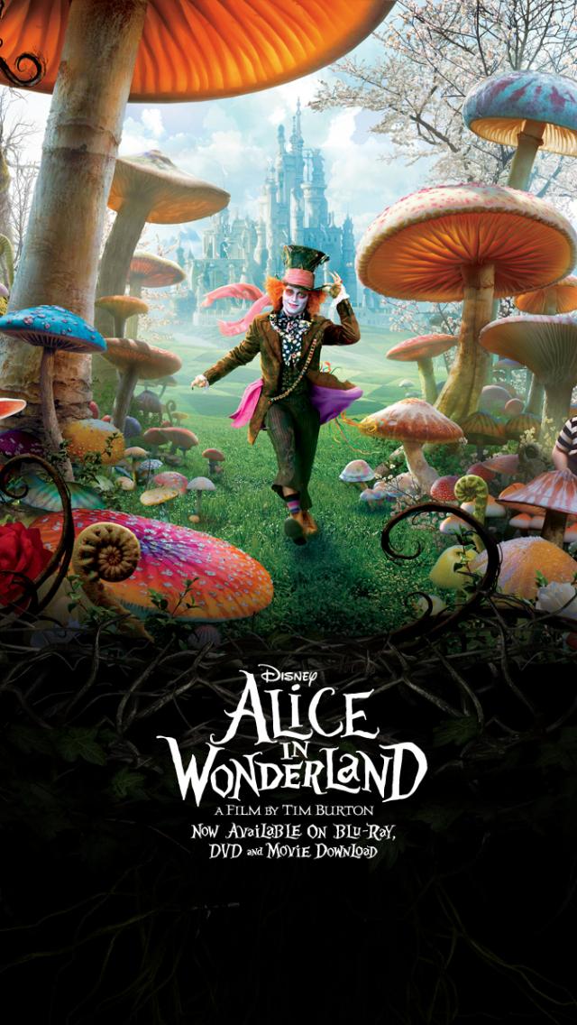 Free Download Alice In Wonderland Wallpaper Tim Burton