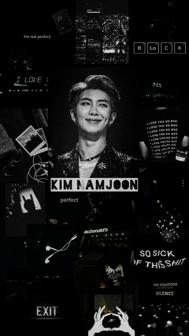 Free Download Lockscreen Kim Namjoon Uploaded By Mochiii On