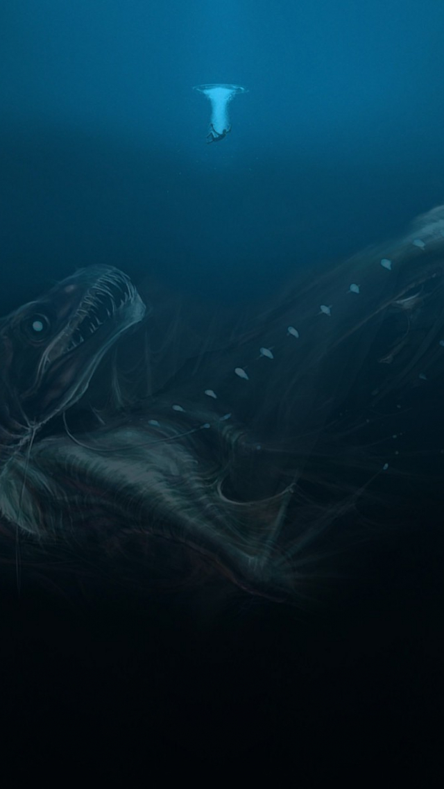Free Download Underwater Deep Sea Sea Monsters Wallpapers Hd