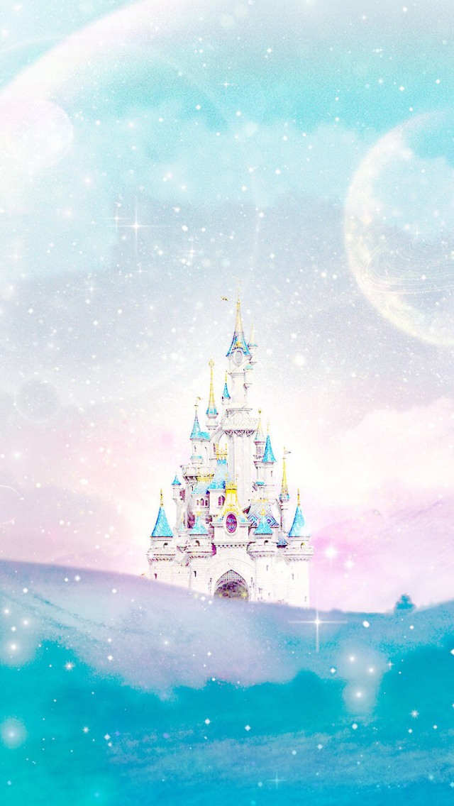 Free Download Disney Castle Line Iphone Wallpaper Phone