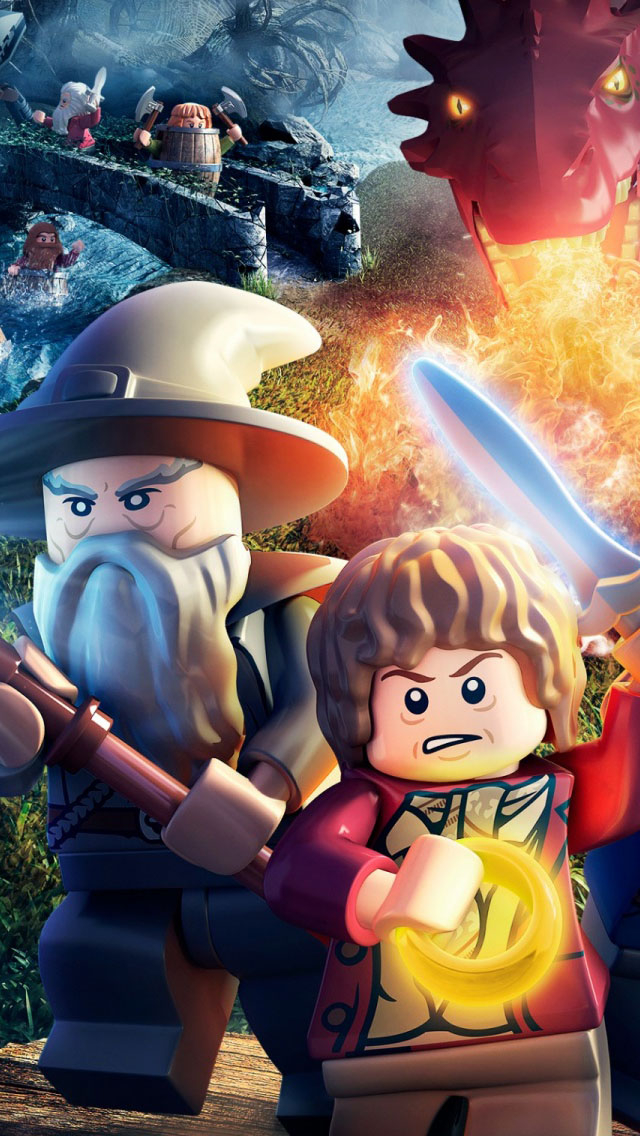 The Hobbit Wallpaper IPhone LEGO Wallpapers 640x1136