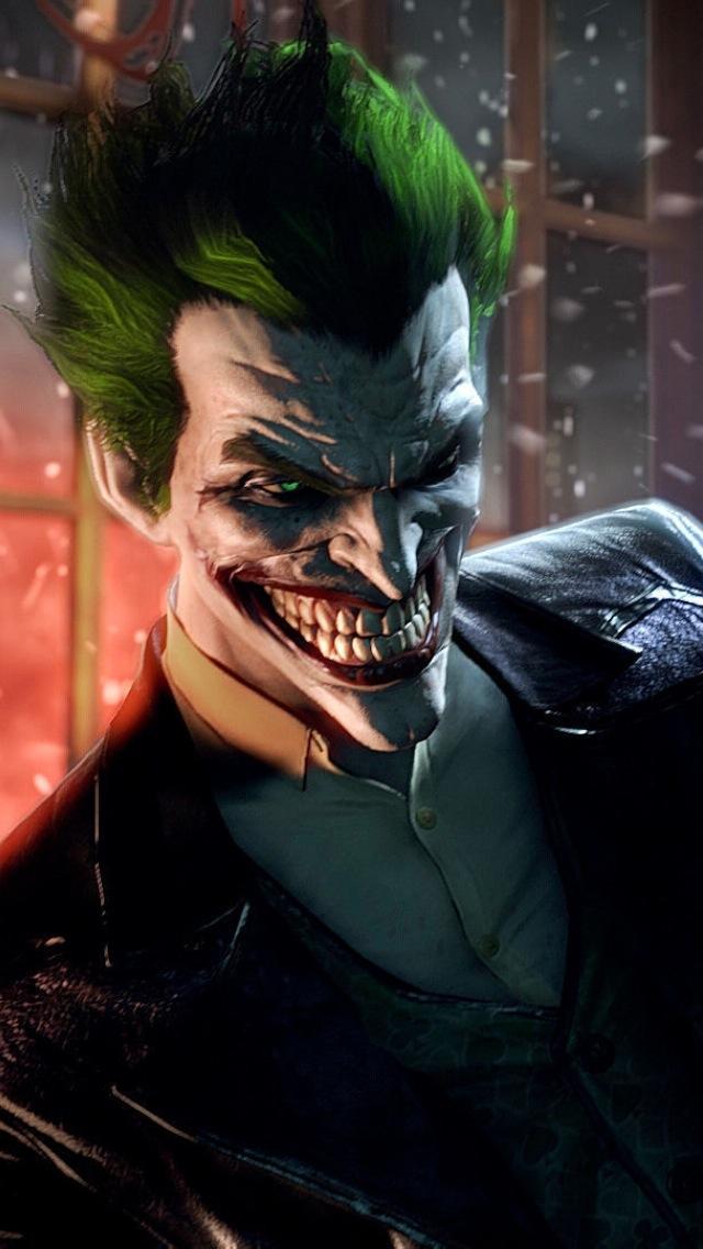 Free Download Batman Arkham Origins Joker Wallpaper Iphone