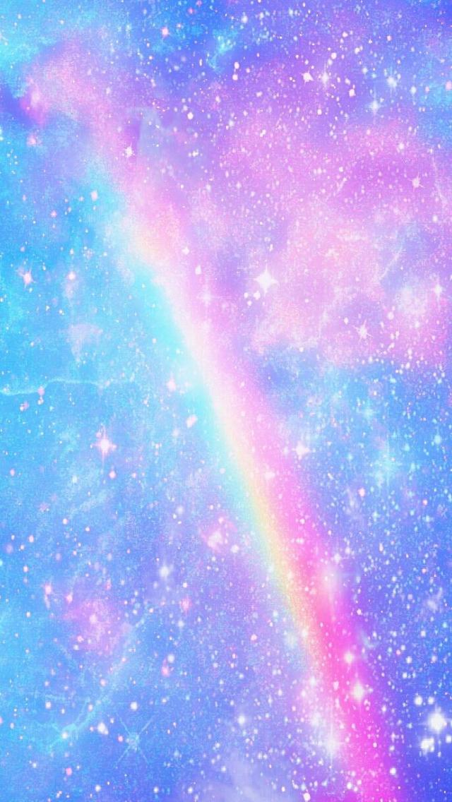 690x1253px Pastel Rainbow Wallpaper