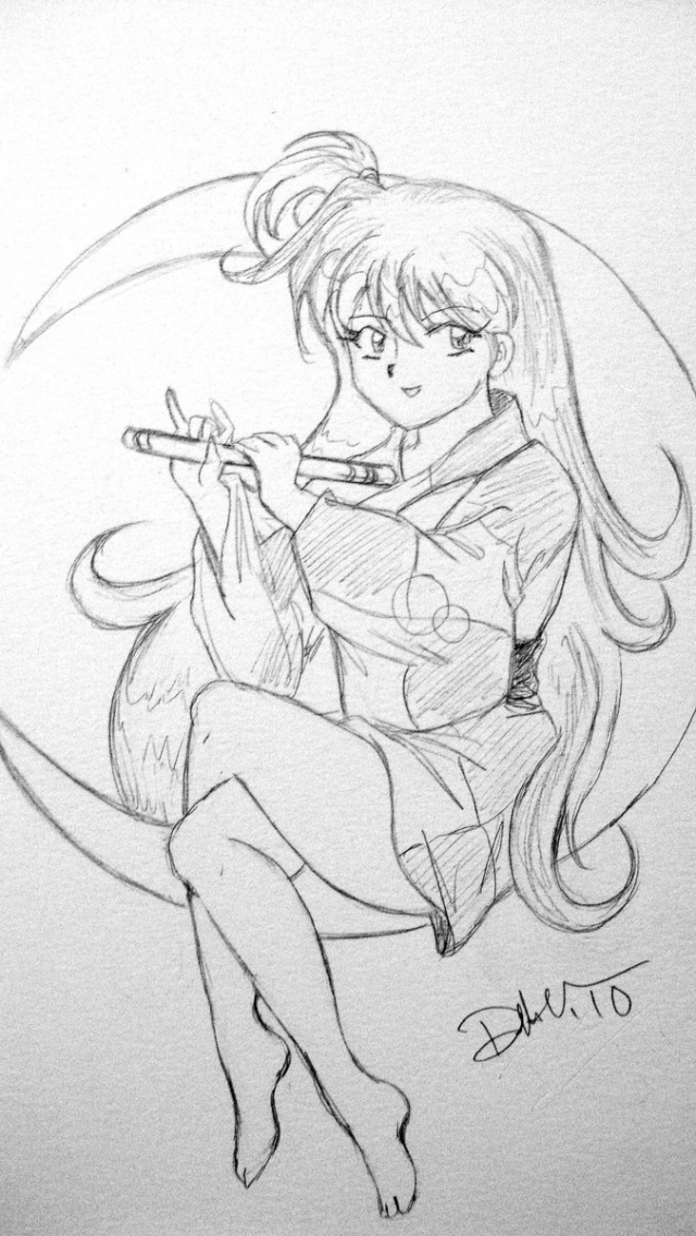 40 Best inuyasha coloring pages images | Inuyasha, Coloring pages ... | 1136x640