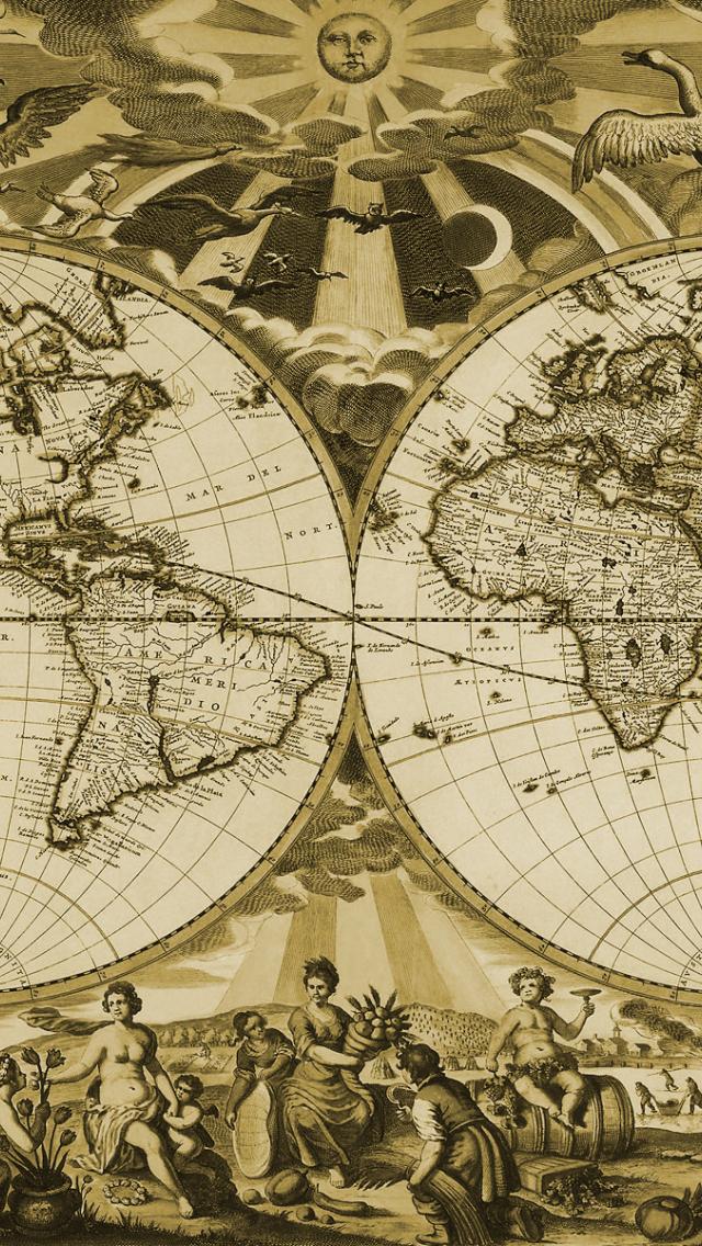 1600x1200px old world map wallpaper wallpapersafari old world map wallpaper gumiabroncs Choice Image