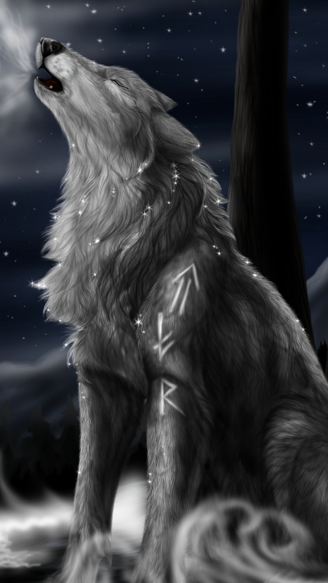 Free Download Displaying 15 Images For Galaxy Wolf Wallpaper 720x1280 For Your Desktop Mobile Tablet Explore 46 Galaxy Wolf Wallpaper Wolf Wallpapers Wolf Desktop Wallpaper Free 1920x1080 Cool Black Wolf Wallpaper