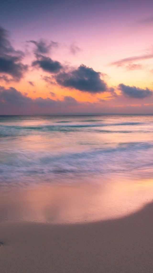 Free Download 4k Vague Hd Coucher De Soleil Oceanscape Fond