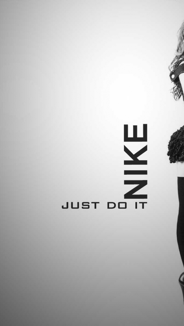 640x1136 Resolution 1920x1200 Image Info HTML Code Digitalhint Title Nike Just Do It Girl HD Wallpaper