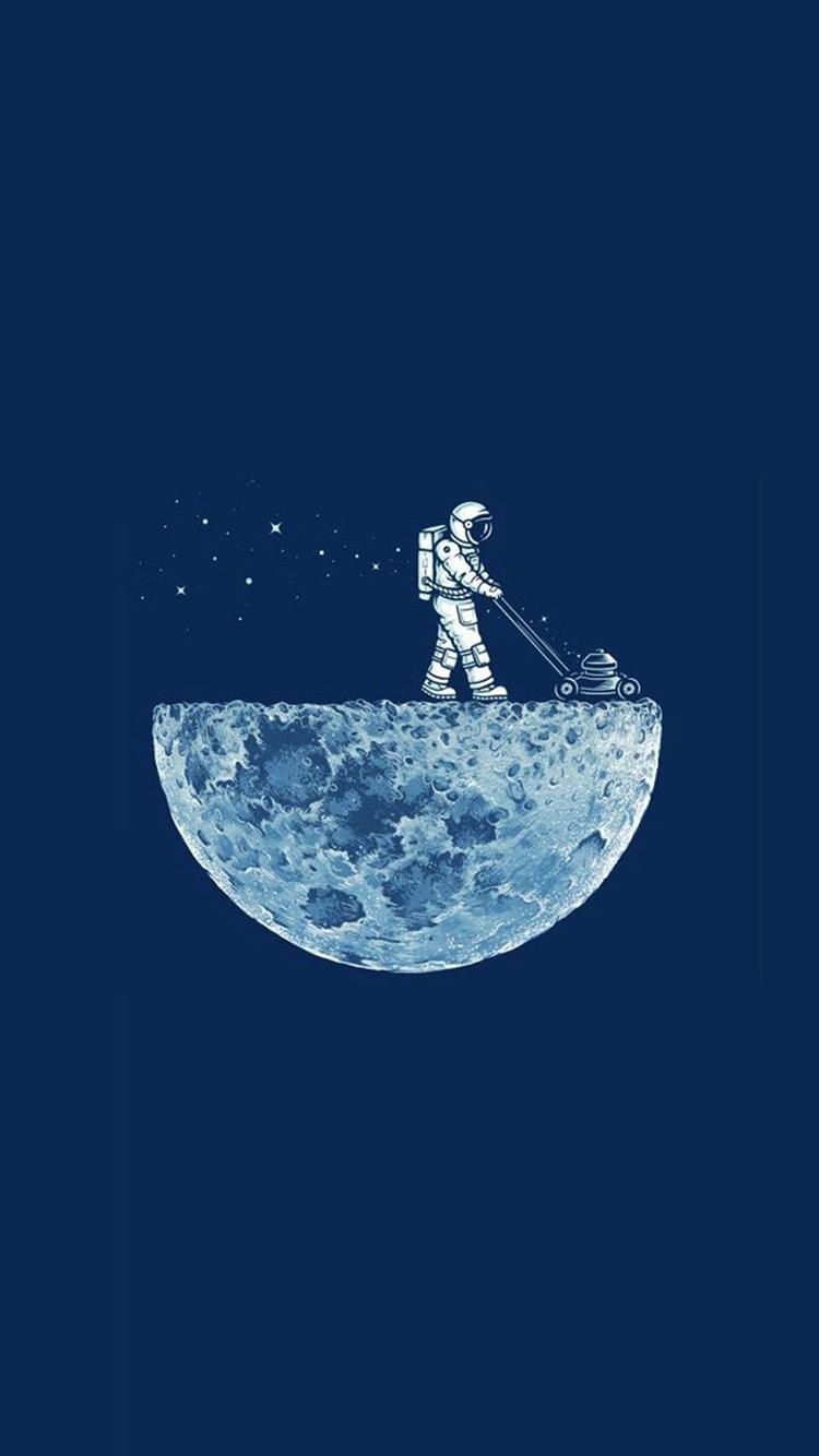 Free Download Astronaut Moon Iphone 6 Wallpaper Iphone 6